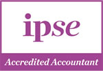 IPSE: Accredited Accountant logo